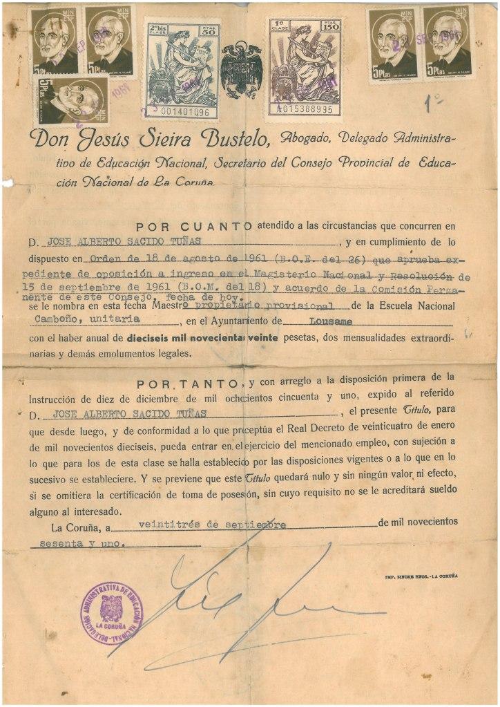 Nomeamento-Camboño-1961web